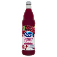 Ocean Spray cranberry & raspberry squash