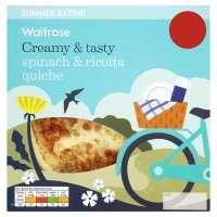 Waitrose spinach & ricotta quiche