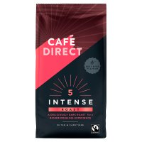 Café Direct Fair Trade rich roast coffee