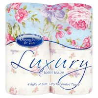 Bloomsbury & Tate almond blossom luxury toilet tissue