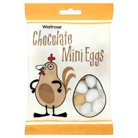 Waitrose chocolate mini eggs