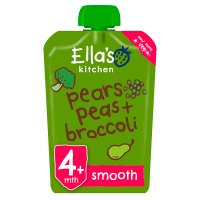 Ella's Kitchen Organic broccoli, pears and peas baby food