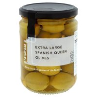 Waitrose 1 extra large spanish queen olives
