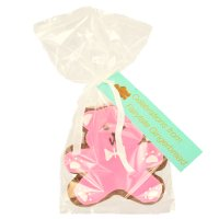 Image on Food Pink teddy bear gingerbreads