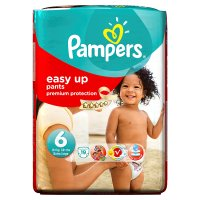 Pampers Easy Up 6 extra large 16+kg 19's