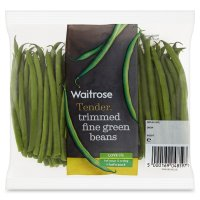 Waitrose trimmed green beans