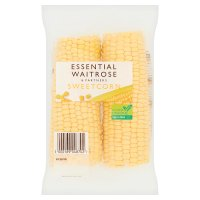 essential Waitrose sweetcorn