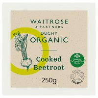Waitrose Organic cooked beetroot