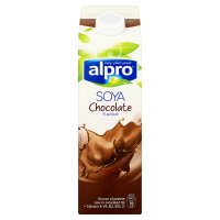 Alpro chocolate flavour fresh soya milk