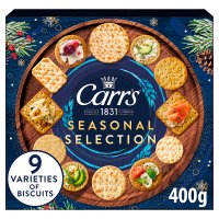 Carr's biscuits for cheese selection