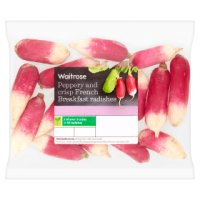 Waitrose French breakfast radishes