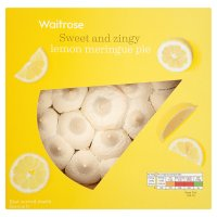 Waitrose lemon meringue pie