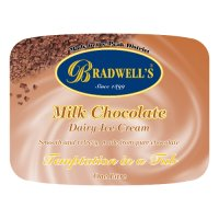 Bradwell's milk chocolate dairy ice cream