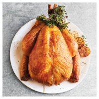 Bronze feathered Free range medium turkey