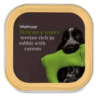 Waitrose terrine with rabbit heart & vegetables
