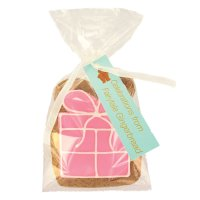Image on Food pink happy birthday parcel