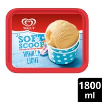 Wall's Soft Scoop vanilla light ice cream