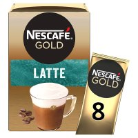 NESCAFÉ GOLD Latte Coffee 8 sachets