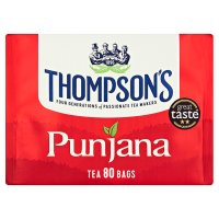 Thompsons punjana 80 tea bags