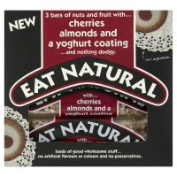 Eat Natural cherries almonds & a yoghurt coating