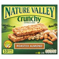 Nature Valley granola bars roasted almond