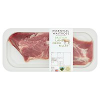 essential Waitrose British lamb neck fillet