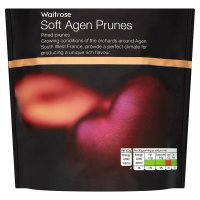 Waitrose soft Agen prunes