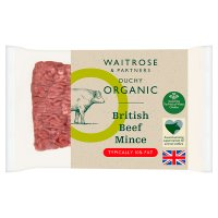 Duchy Originals from Waitrose organic British beef lean mince