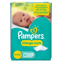 Pampers Care Change Mats 12 Mats Normal