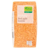 Waitrose LOVE life red split lentils