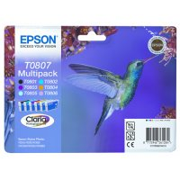 Epson ink multipack T0807