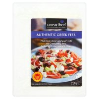 Unearthed authentic Greek feta cheese