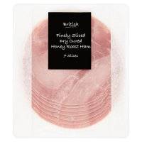 British finely sliced dry cured honey roast ham