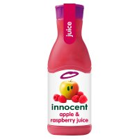 Innocent apple and raspberry juice 900ml