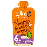 Ella's Kitchen Organic mango baby brekkie - from stage 1 baby food