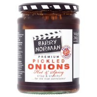 Barry Norman pickled onions, hot & spicy