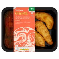 Waitrose mango & chilli chicken in batter