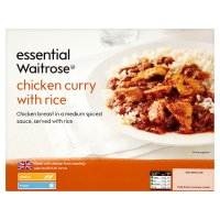 essential Waitrose chicken curry with rice