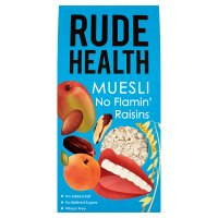 Rude Health no flamin' raisins muesli