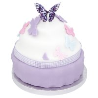 Waitrose Cupcake giant butterfly