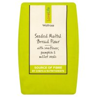 Waitrose Love life seeded & malted bread flour