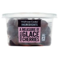Waitrose Cooks' Homebaking glacé cherries