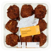Waitrose sweet potato falafels
