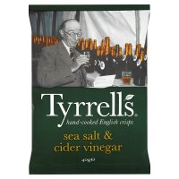 Tyrell's cider vinegar & sea salt potato chips