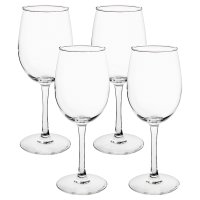 essential Waitrose 4 large wine glasses