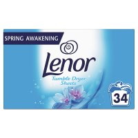 Lenor Tumble Dryer Sheets Spring Awakening 34 Sheets