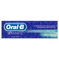 3D White Soft Mint Toothpaste 75ml