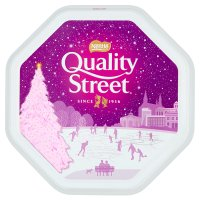Quality Street milk chocolate tin
