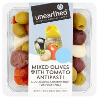 Unearthed mixed olives & tomato antipasti