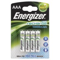 Energizer rechargeable AAA 1000mAh